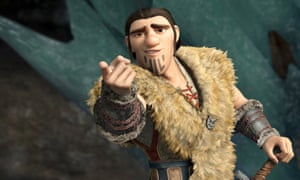 Eret (voiced by Kit Harington) in How To Train Your Dragon 2