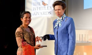 Hotlin Ompusunggu received a 2011 Whitley award and has this year been recognised a second time with a gold award.