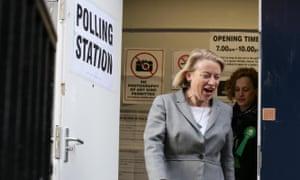 UK Green party leader Natalie Bennett.