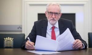 Labour leader Jeremy Corbyn.