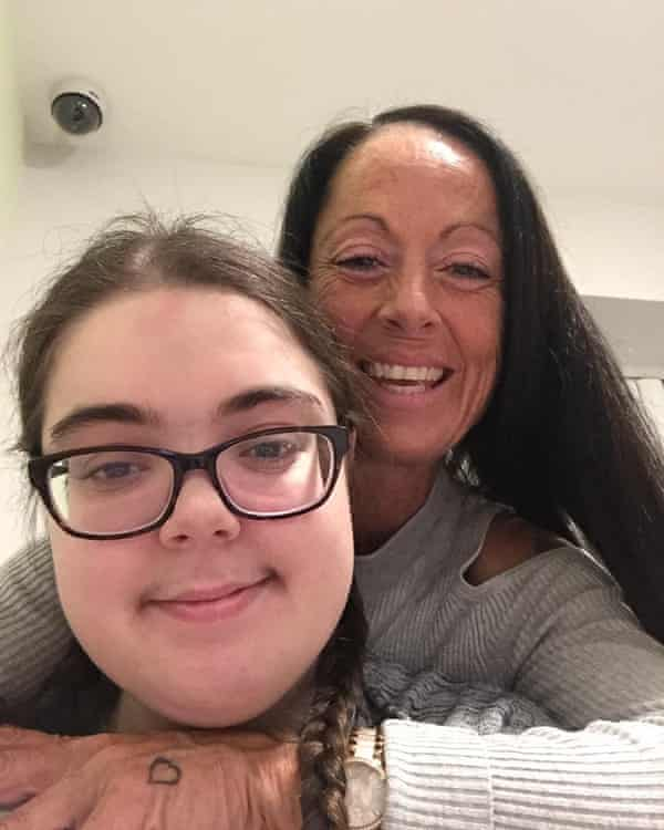 Andrea Attree and daughter Dannielle: 'The second lockdown increased Dannielle's anxiety. Her self-harm has increased again.'