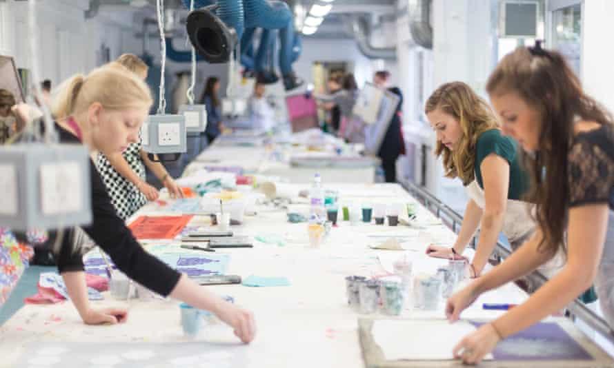 Textiles Students at Arts University Bournemouth