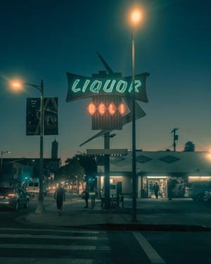Liquor Deli  in Los Angeles by photographer Franck Bohbot.