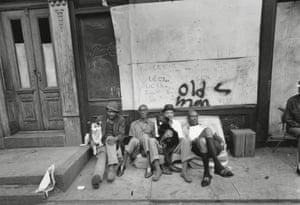 East 100th Street, Harlem, New York, 1966