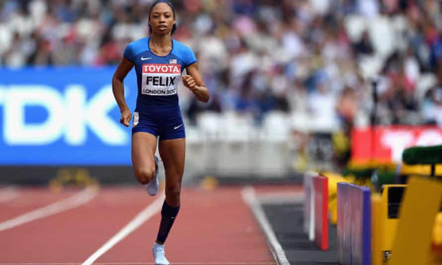 Allyson Felix: 'The next couple of years are going to be really intense'.