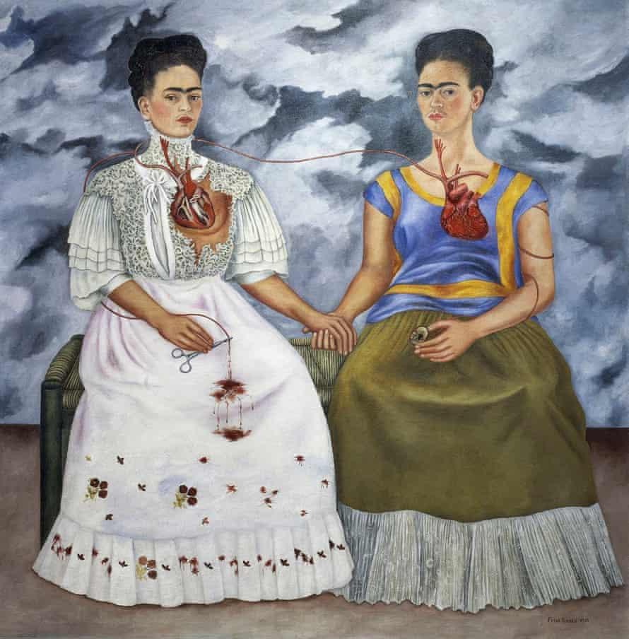 Las dos Fridas, 1939, Frida Kahlo