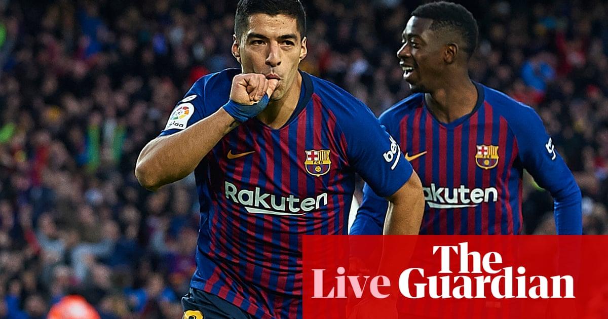 Barcelona 5-1 Real Madrid: El clásico – as it happened | Football