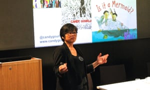 Candy Gourlay discusses diversity in book characters and writing for different audiences at the Guardian Education Centre Reading for pleasure 28 March 2019
