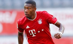 David Alaba is among the potential transfer targets for Manchester City