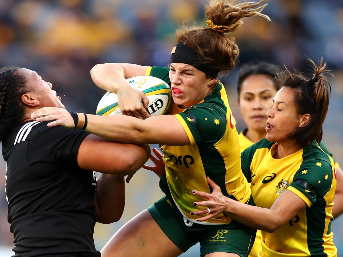 Wallaroos Succumb To Black Ferns Dominance In First Women S Rugby Test Rugby Union The Guardian