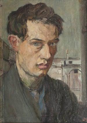 Self-portrait, c.1910.