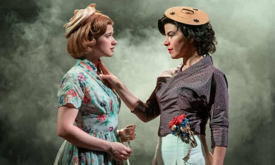 Karen Fishwick (Daisy) and Sirine Saba (Suzannah) in Samuel Adamson's Wife.