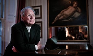 Sir Neville Marriner at his home in London in 2008.