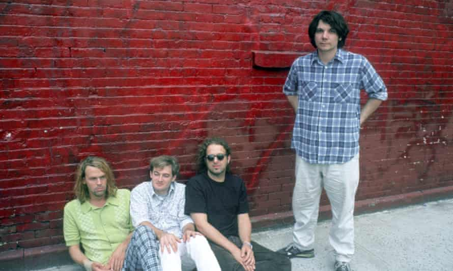 Wilco pictured in New York, 1996.