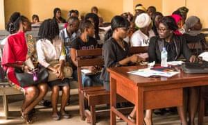 A hearing was held in June on Sierra Leone's ban on pregnant schoolgirls