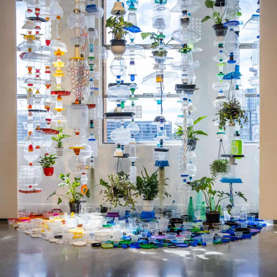 Plastic Topographies (2020-21) by Lauren Berkowitz at the MCA, for The National 2021