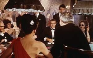 Connery in Dr No, directed by Terence Young, 1962