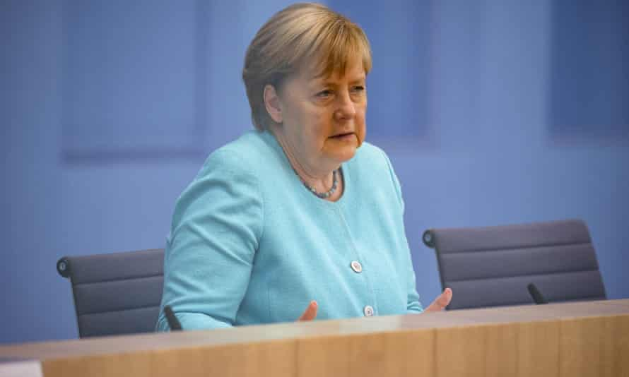 Angela Merkel was speaking at her annual summer press conference in Berlin on Thursday