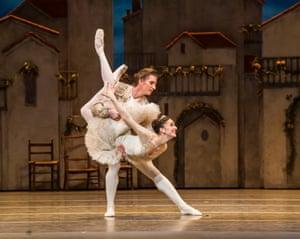 Marianela Nuñez and Vadim Muntagirov in the Royal Ballet's Don Quixote.