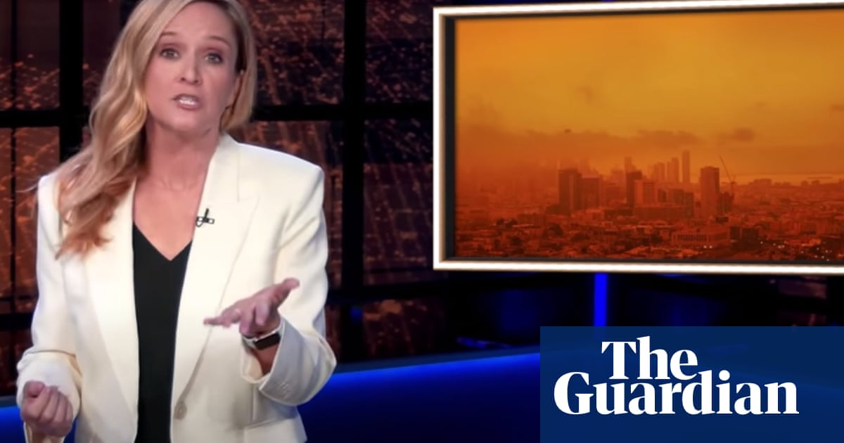 Samantha Bee on climate crisis: 'Every sewage worker should be paid $3bn a year'