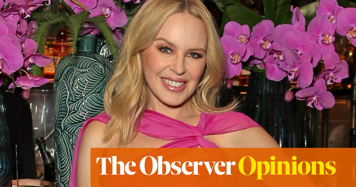 Kylie Minogue's going home, but we'll never get her out of our heads