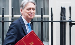 Philip Hammond in Downing Street