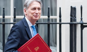 Borrowing fell more than expected in September, giving the chancellor Philip Hammond more room for spending giveaways at the budget on 29 October