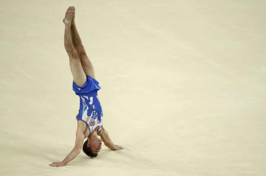 Max Whitlock Men's Floor Exercise Final.