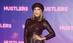 Jennifer Lopez at a photo call for Hustlers