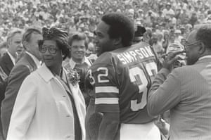 OJ Simpson during his playing days.
