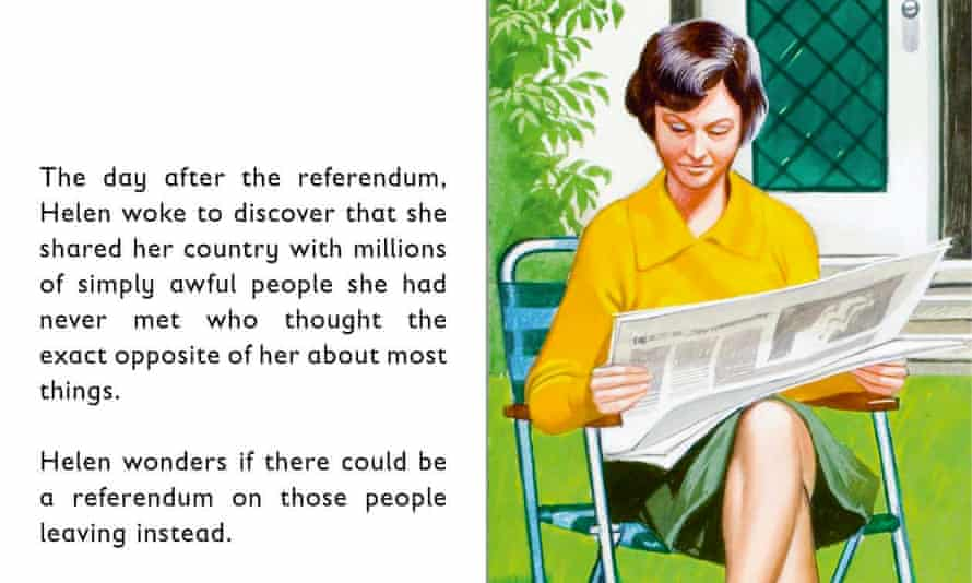 Inside Ladybird's The Story of Brexit.