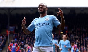 Raheem Sterling continued his tremendous goalscoring form at Selhurst Park.
