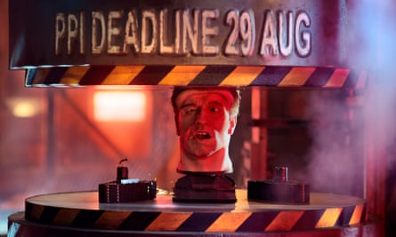 Part of the FCA's deadline reminder ad campaign, featuring an animated Arnold Schwarzenegger.