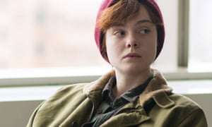 Elle Fanning as Ray in the gender transition drama 3 Generations