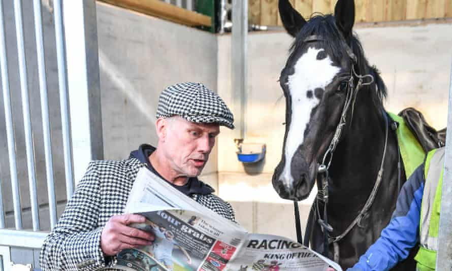 Bez with filly Mystic Moonshadow at her stables.