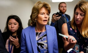 SSenator Lisa Murkowski, a Republican of Alaska, who reintroduced Savanna's Act to combat violence against Native women, said: 'It's been really hard to hear the stories.'