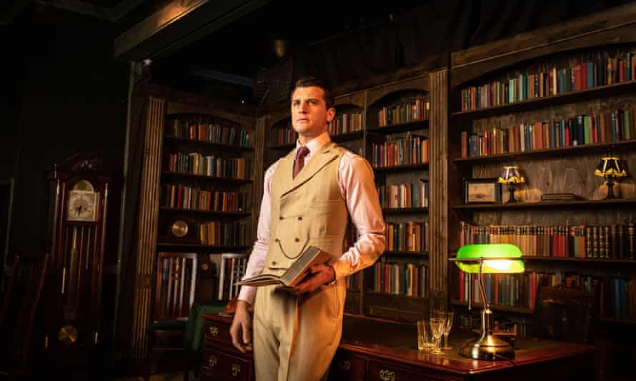 Oliver Towse as Gatsby in The Great Gatsby, which is due to reopen in October.