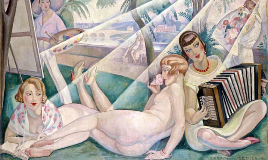 Gerda Wegener's A Summer Day, 1927.