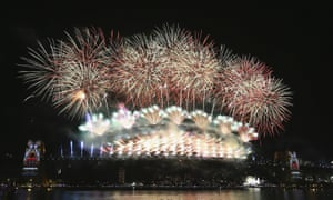 Hope it goes with a bang: New Year's Eve fireworks.
