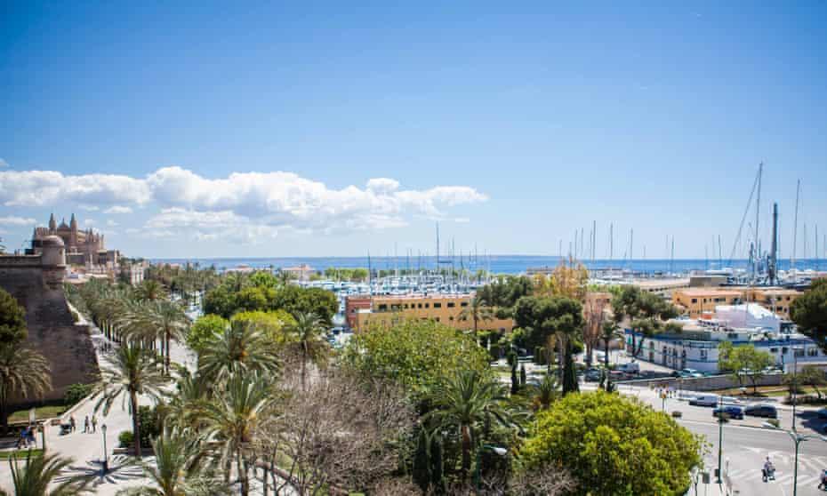 The view from Hostal Cuba Sky Bar