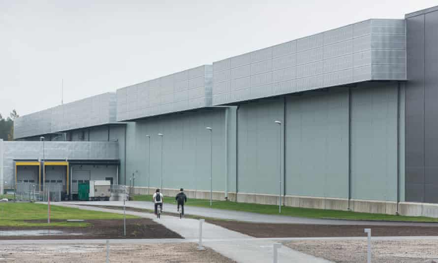 The datacentre in Luleå, northern Sweden, is Facebook's first outside the US.