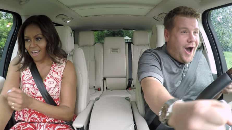 Michelle Obama on Carpool Karaoke with James Corden