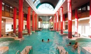 Public baths: Les Bains du Couloubret a Ax Les Thermes, France