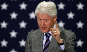 Many voters cited the 'Bill effect' in relation to Hillary Clinton's relative popularity among black voters.