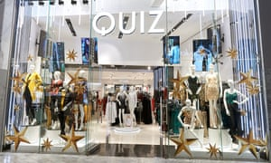 A Quiz store at the Silverburn centre near Glasgow.