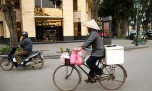 New wealth in Vietnam.
