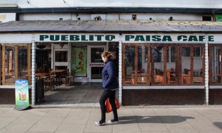Pueblito Paisa Cafe in Tottenham High Street