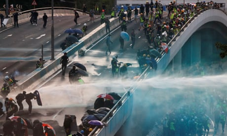 Unrest in Hong Kong as protests turn violent – in pictures