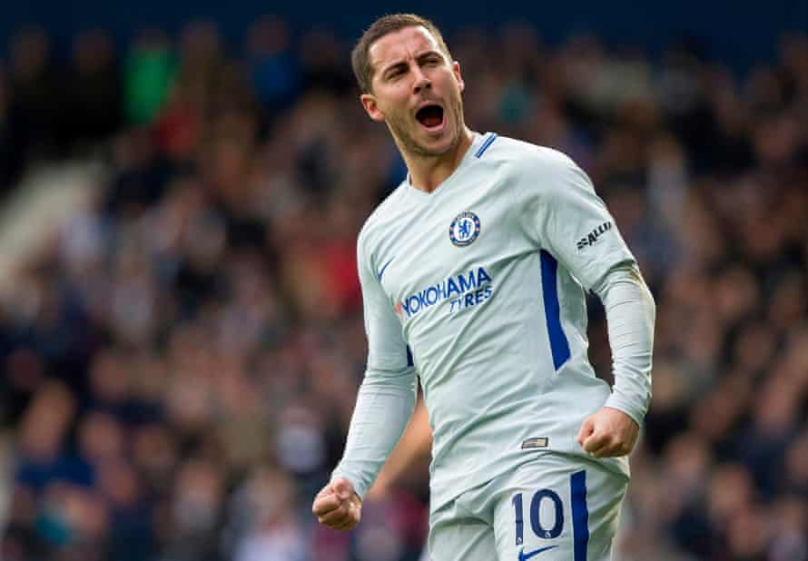 Eden Hazard was the architect of Chelsea's win at West Brom, scoring twice.