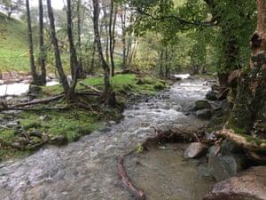 Glenridding downstream relief channel